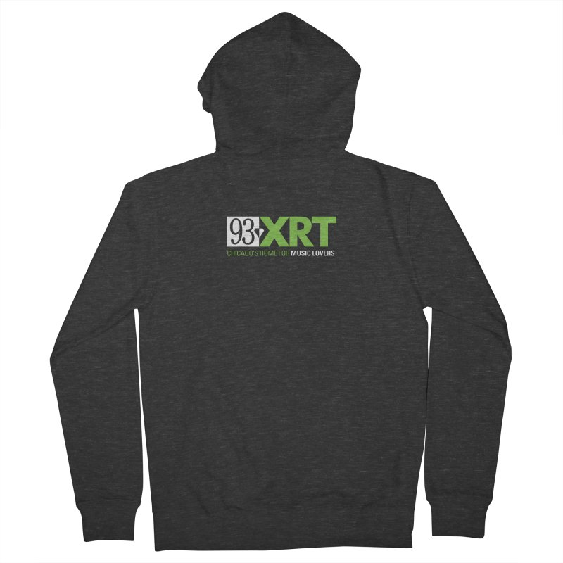 Chicago's Home for Music Lovers Men's French Terry Zip-Up Hoody by 93XRT