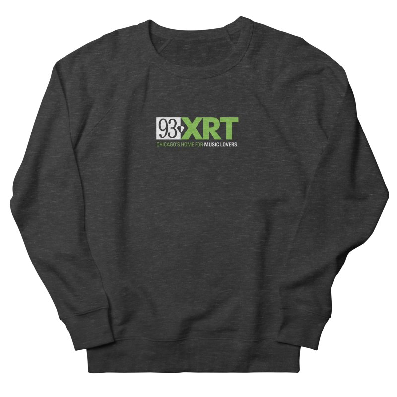 Chicago's Home for Music Lovers Women's French Terry Sweatshirt by WXRT's Artist Shop