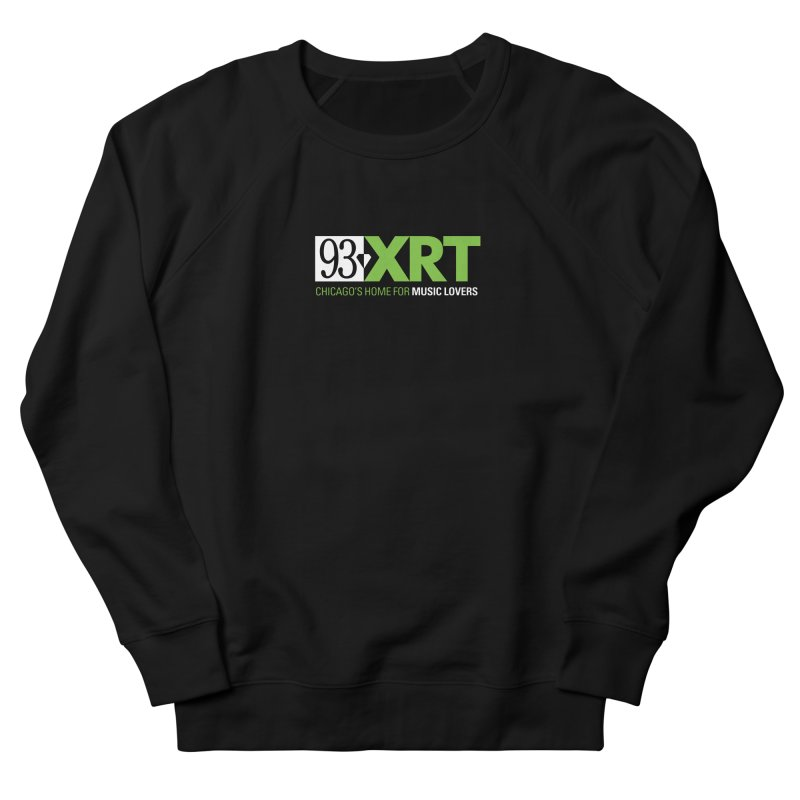 Chicago's Home for Music Lovers Men's French Terry Sweatshirt by 93XRT