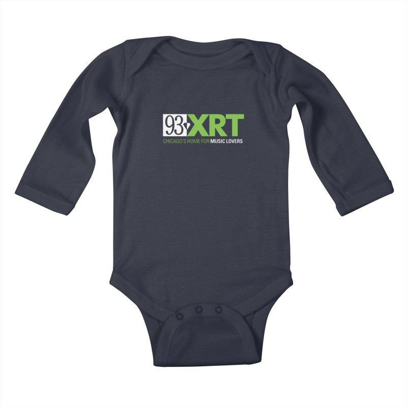 Chicago's Home for Music Lovers Kids Baby Longsleeve Bodysuit by 93XRT