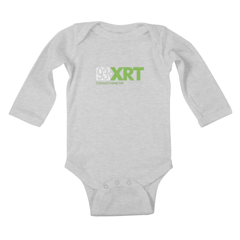 Chicago's Home for Music Lovers Kids Baby Longsleeve Bodysuit by WXRT's Artist Shop
