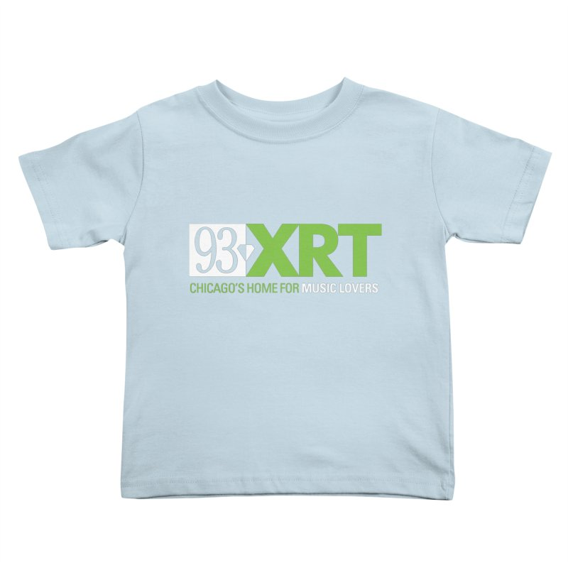 Chicago's Home for Music Lovers Kids Toddler T-Shirt by WXRT's Artist Shop