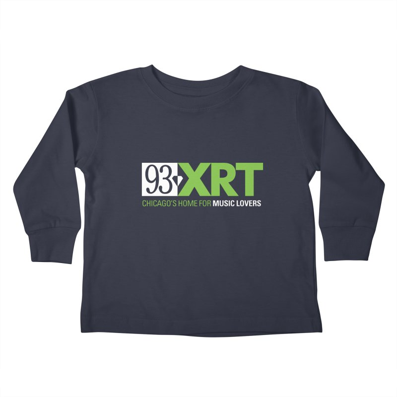 Chicago's Home for Music Lovers Kids Toddler Longsleeve T-Shirt by 93XRT