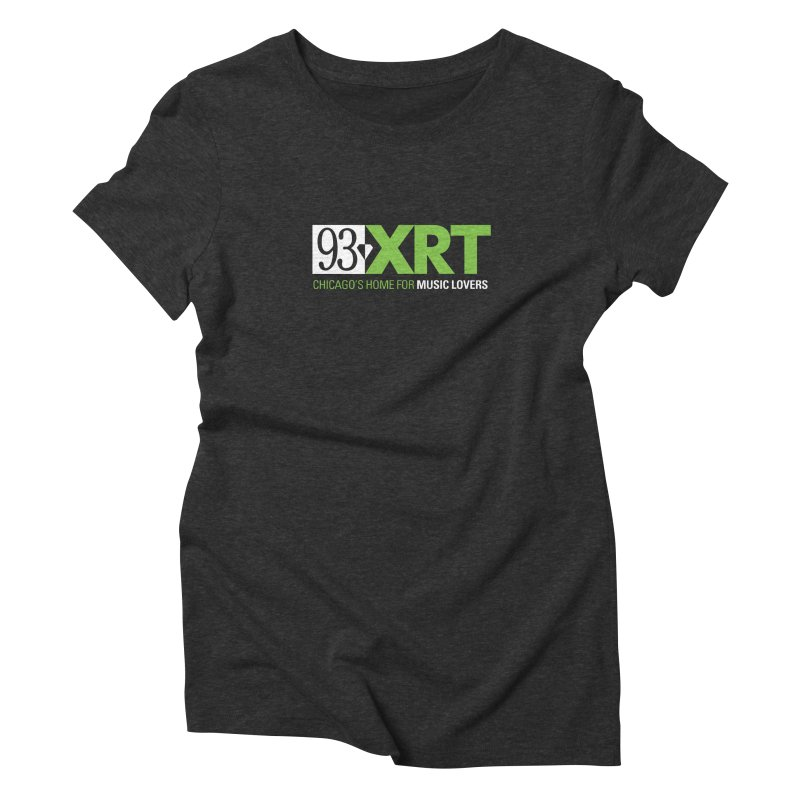 Chicago's Home for Music Lovers Women's Triblend T-Shirt by 93XRT