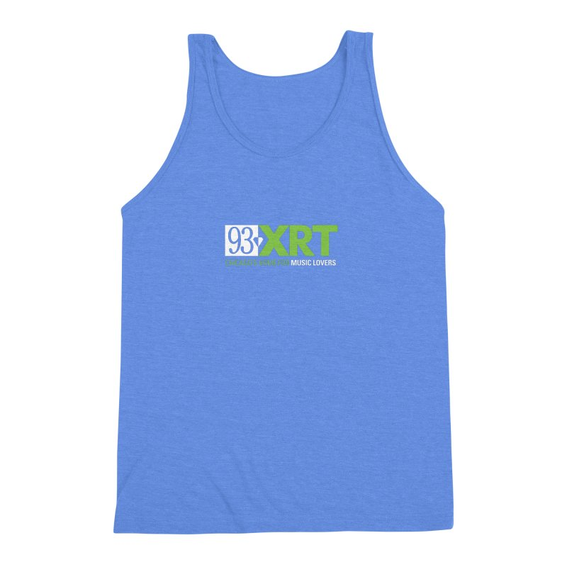 Chicago's Home for Music Lovers Men's Triblend Tank by WXRT's Artist Shop