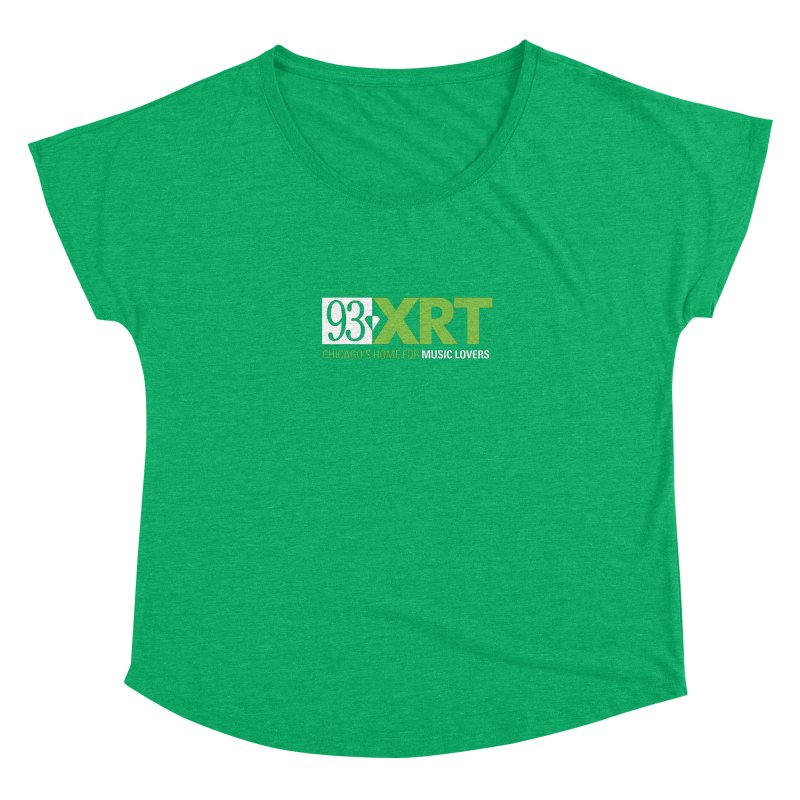 Chicago's Home for Music Lovers Women's Scoop Neck by 93XRT