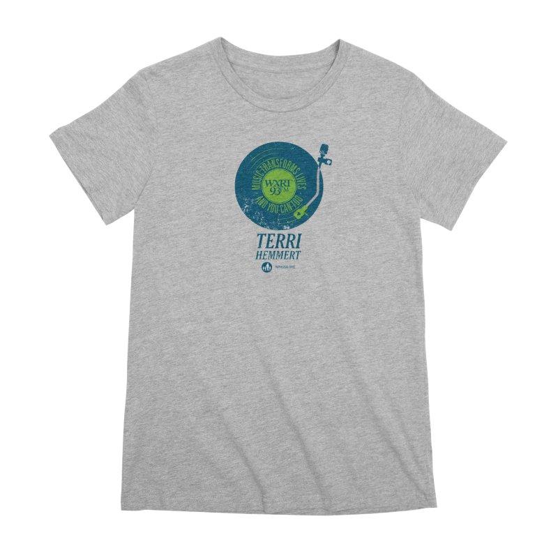 Music Transforms Lives Women's Premium T-Shirt by 93XRT