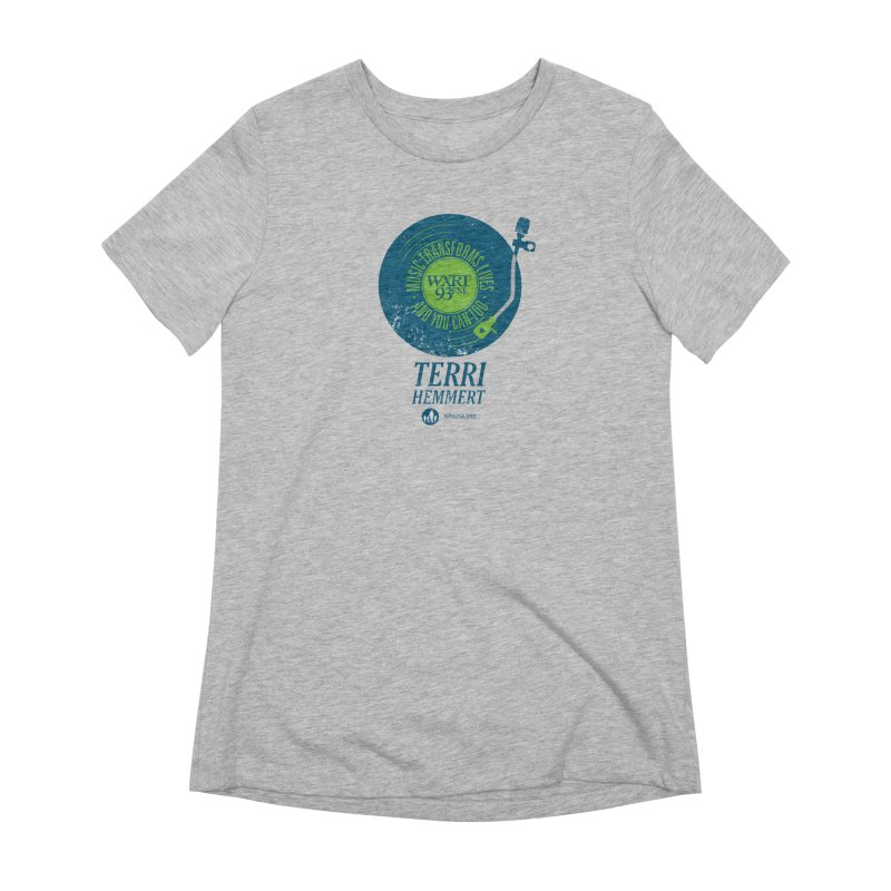 Music Transforms Lives Women's Extra Soft T-Shirt by 93XRT