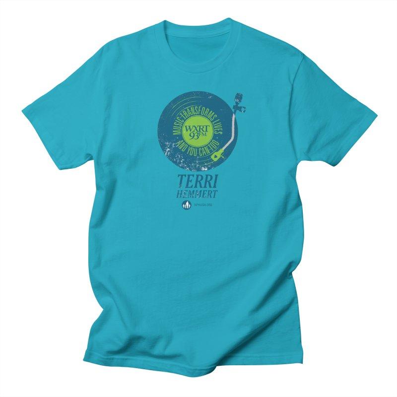 Music Transforms Lives Men's T-Shirt by 93XRT