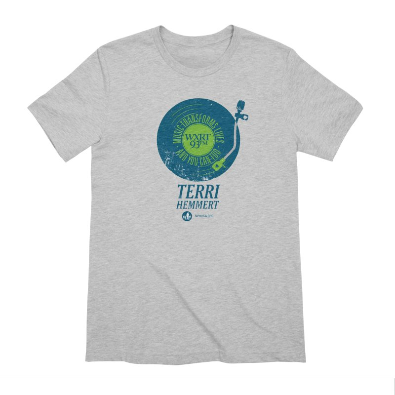 Music Transforms Lives Men's Extra Soft T-Shirt by 93XRT
