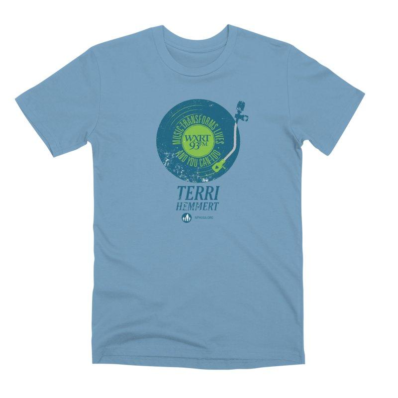 Music Transforms Lives Men's Premium T-Shirt by 93XRT