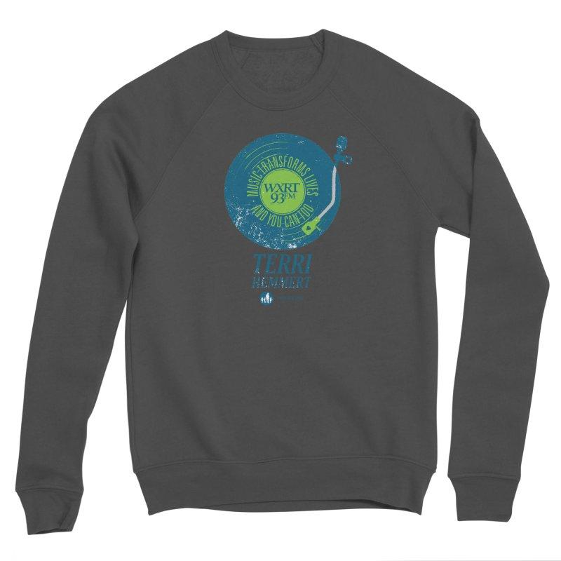 Music Transforms Lives Men's Sponge Fleece Sweatshirt by 93XRT