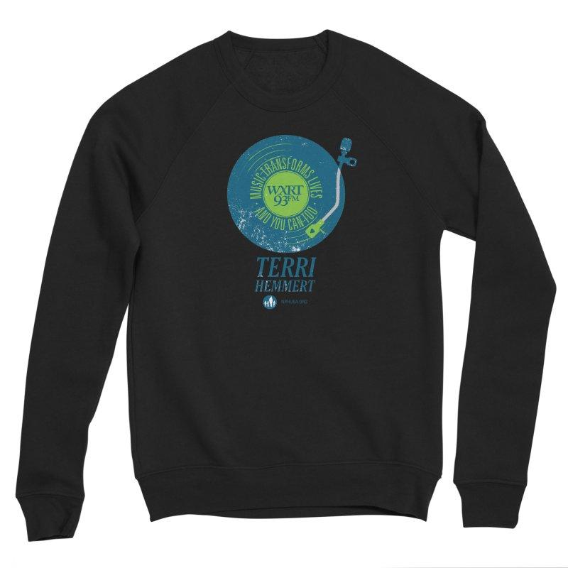 Music Transforms Lives Women's Sponge Fleece Sweatshirt by 93XRT