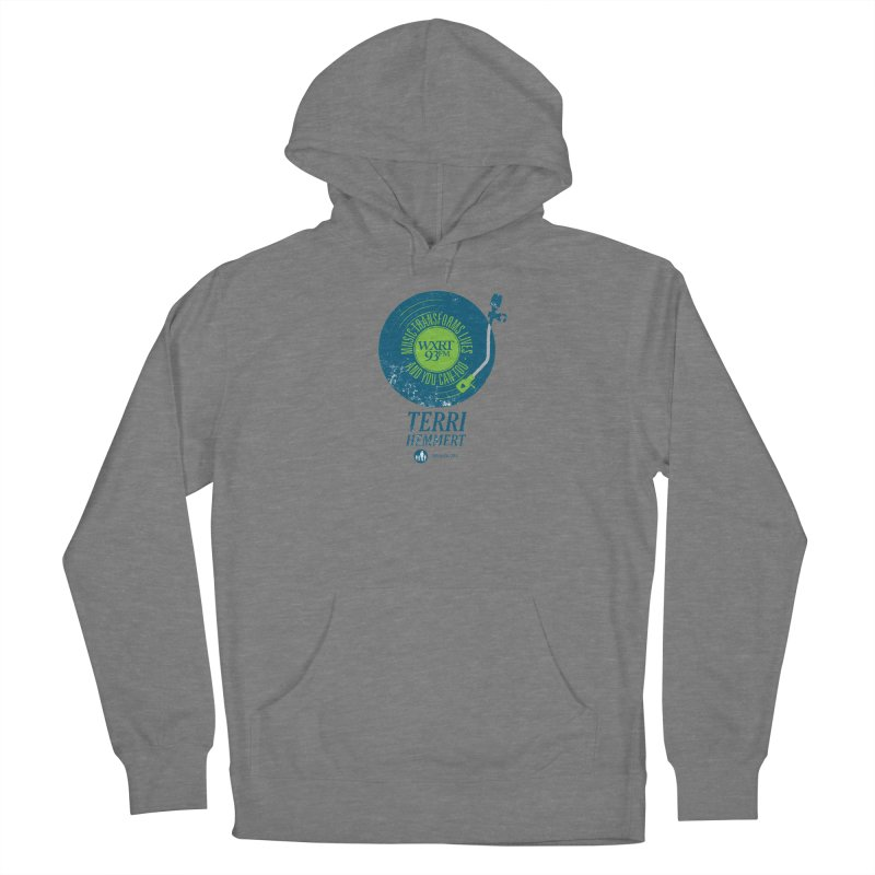 Music Transforms Lives Women's Pullover Hoody by 93XRT