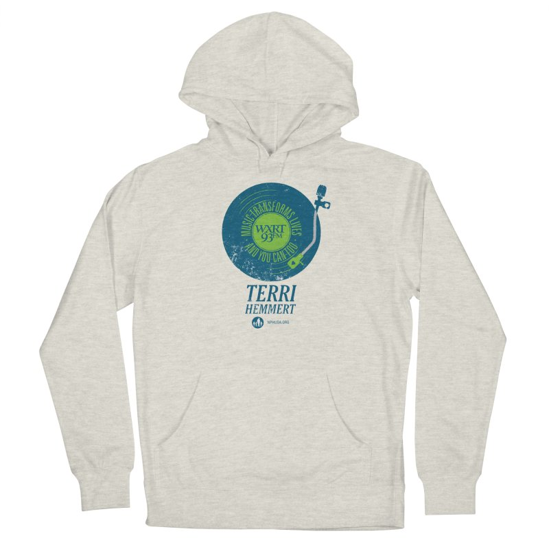 Music Transforms Lives Women's French Terry Pullover Hoody by WXRT's Artist Shop