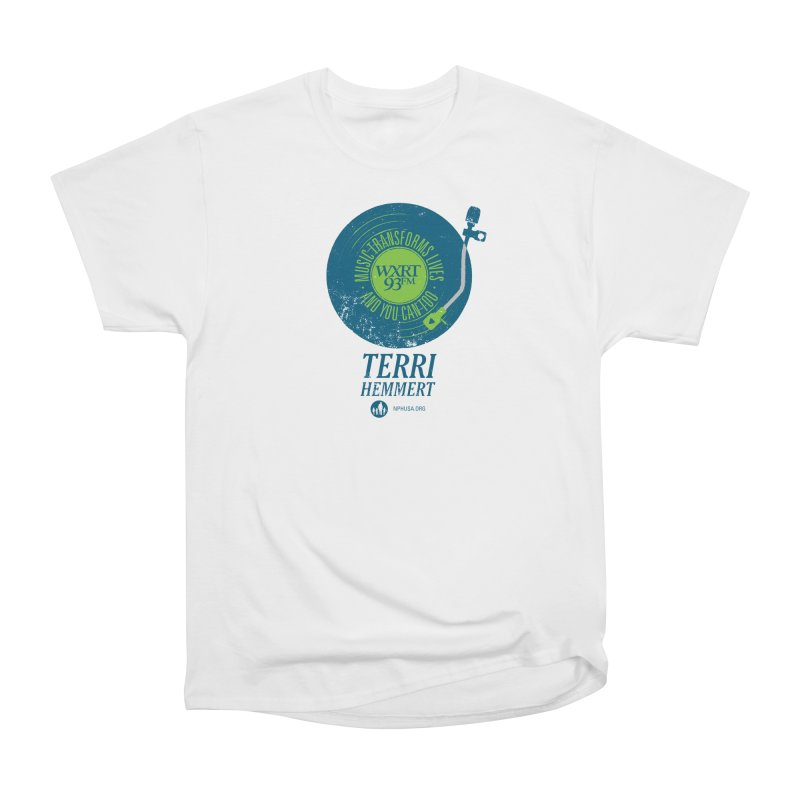 Music Transforms Lives Men's T-Shirt by 93XRT