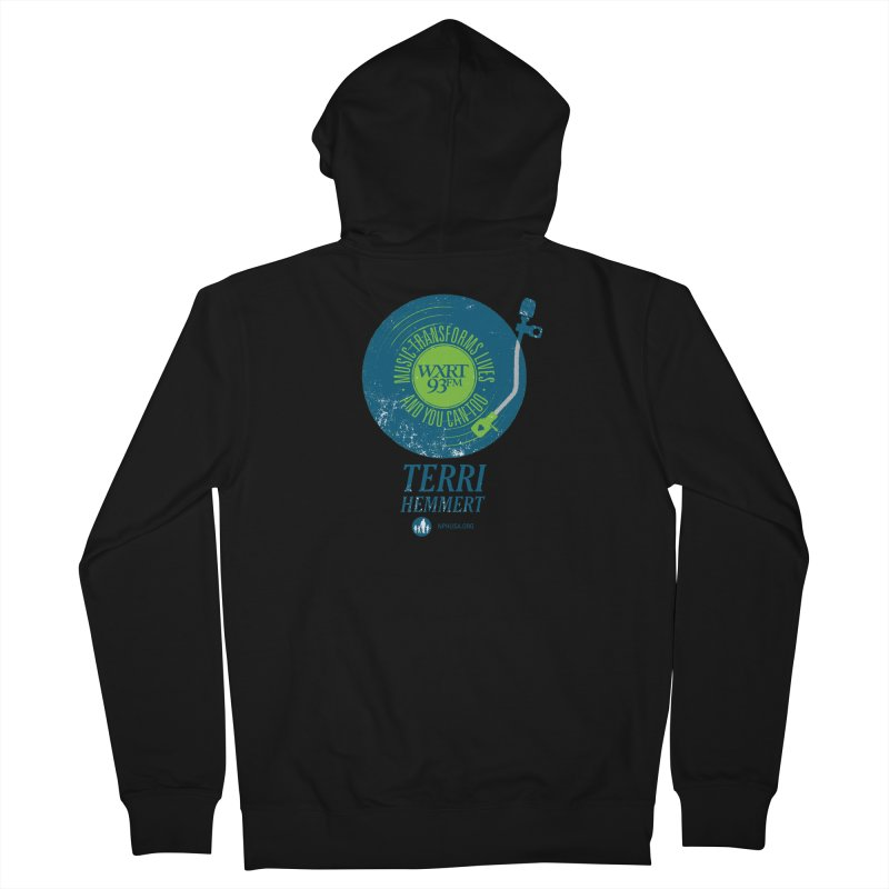 Music Transforms Lives Women's Zip-Up Hoody by 93XRT
