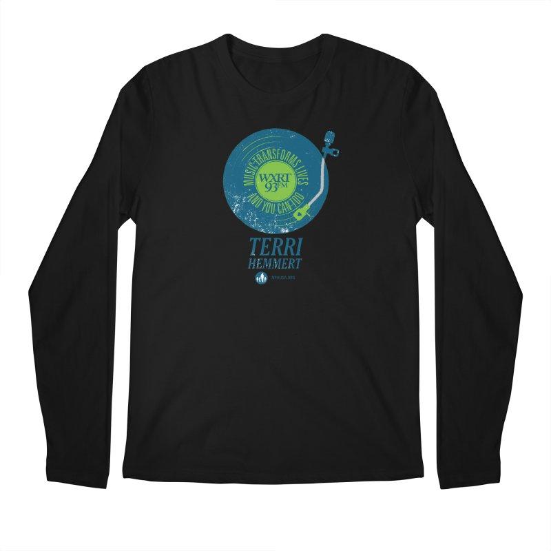 Music Transforms Lives Men's Regular Longsleeve T-Shirt by 93XRT