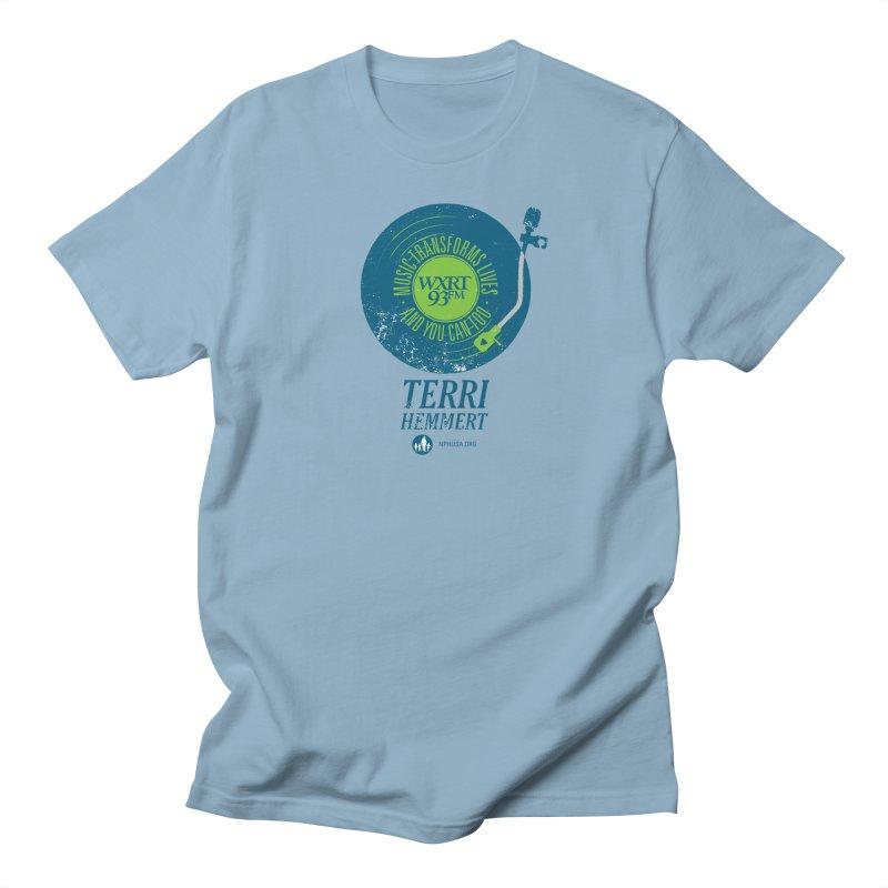 Music Transforms Lives Men's Regular T-Shirt by 93XRT
