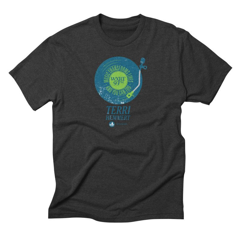 Music Transforms Lives Men's Triblend T-Shirt by 93XRT