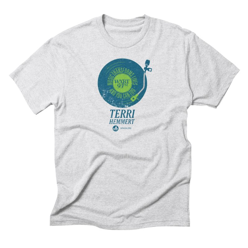 Music Transforms Lives Men's Triblend T-Shirt by WXRT's Artist Shop