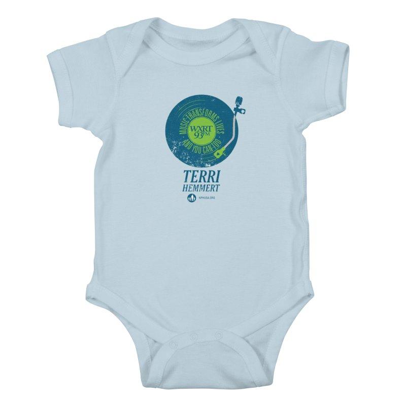 Music Transforms Lives Kids Baby Bodysuit by WXRT's Artist Shop