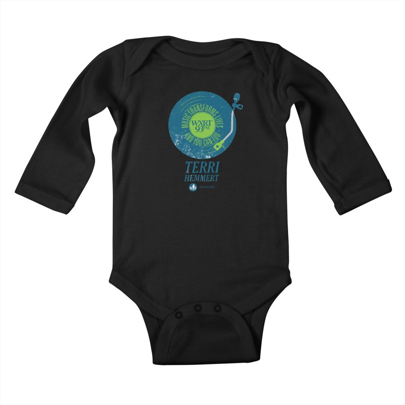 Music Transforms Lives Kids Baby Longsleeve Bodysuit by WXRT's Artist Shop