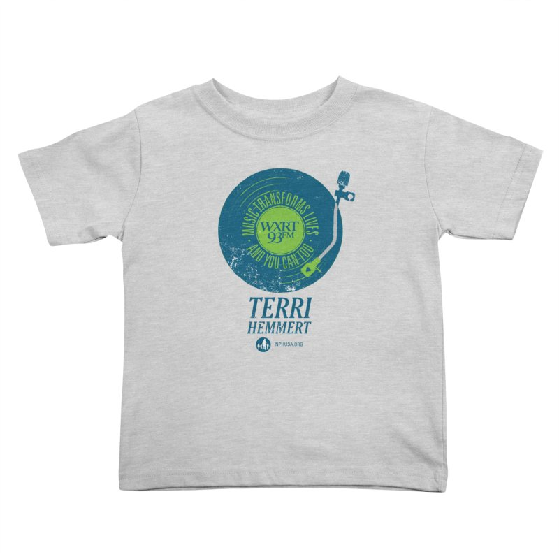 Music Transforms Lives Kids Toddler T-Shirt by 93XRT