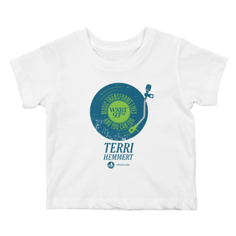 Music Transforms Lives Kids Baby T-Shirt by 93XRT