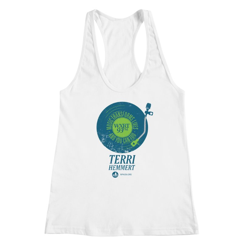 Music Transforms Lives Women's Racerback Tank by 93XRT