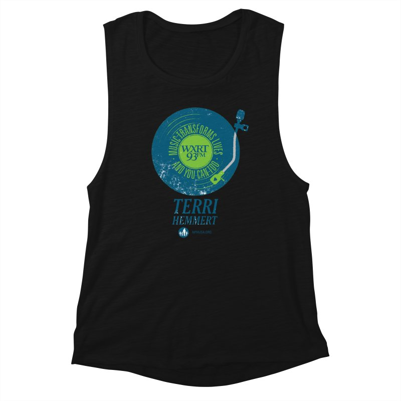 Music Transforms Lives Women's Tank by 93XRT