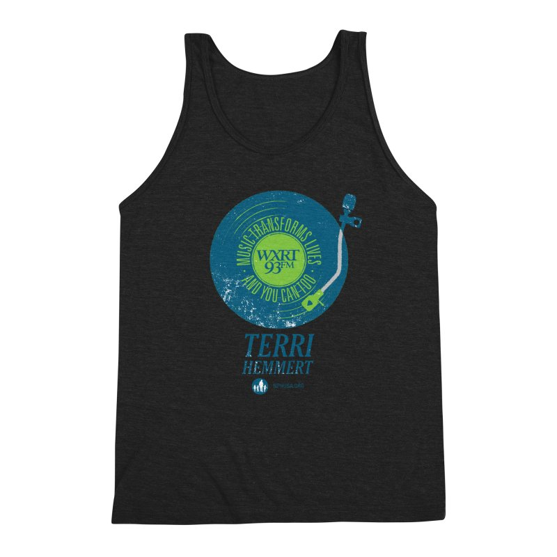 Music Transforms Lives Men's Tank by 93XRT