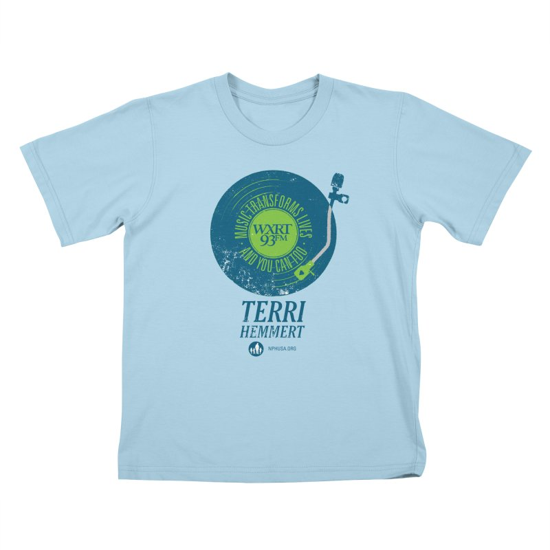 Music Transforms Lives Kids T-Shirt by 93XRT