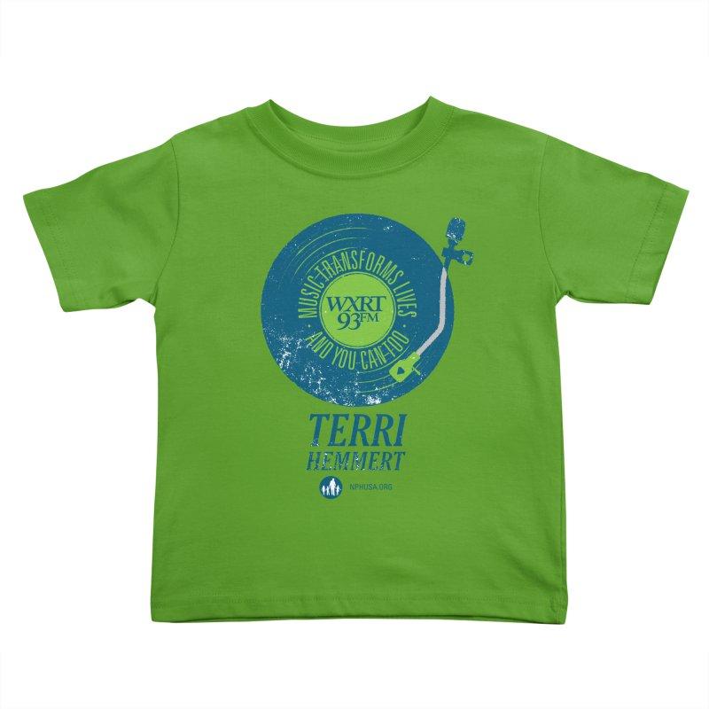Music Transforms Lives Kids Toddler T-Shirt by 93XRT