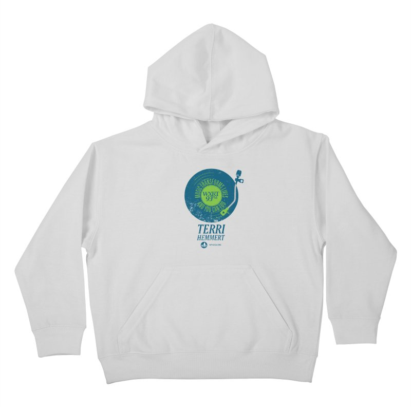 Music Transforms Lives Kids Pullover Hoody by WXRT's Artist Shop