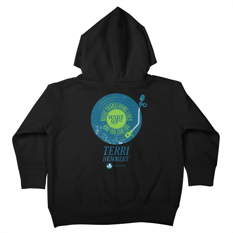 Music Transforms Lives Kids Toddler Zip-Up Hoody by 93XRT