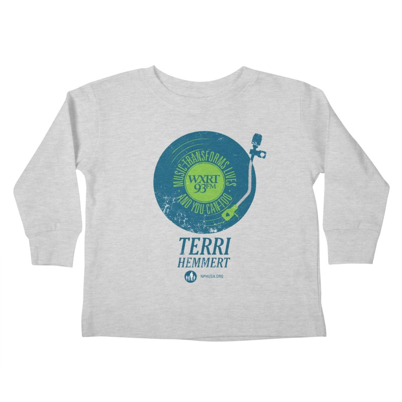 Music Transforms Lives Kids Toddler Longsleeve T-Shirt by 93XRT