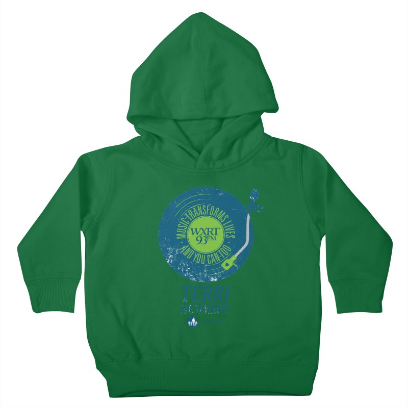 Music Transforms Lives Kids Toddler Pullover Hoody by WXRT's Artist Shop