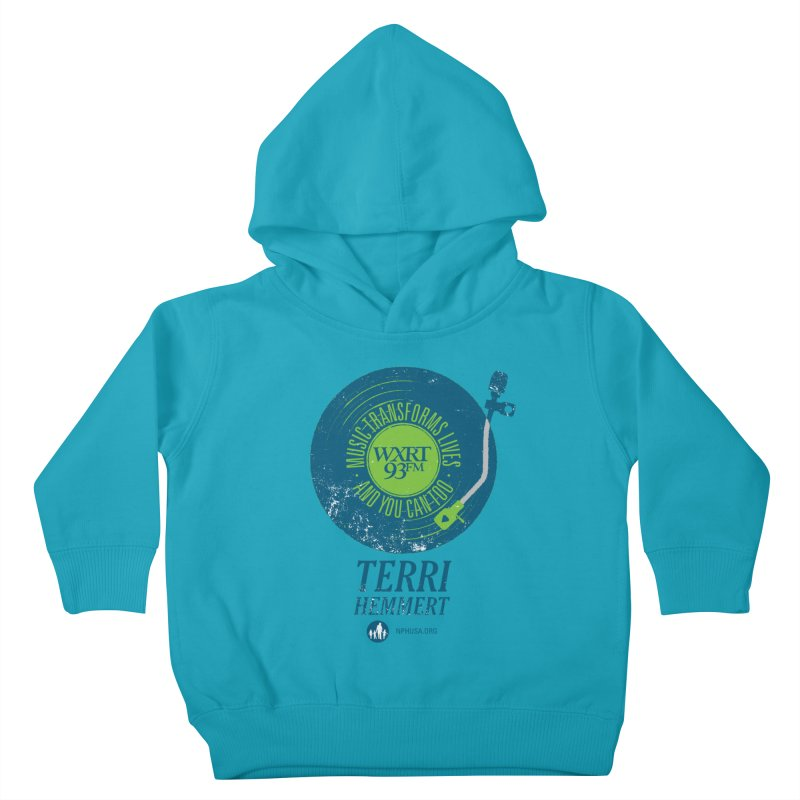 Music Transforms Lives Kids Toddler Pullover Hoody by 93XRT