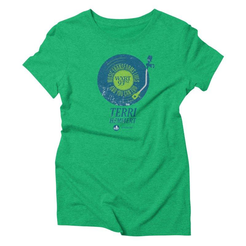 Music Transforms Lives Women's Triblend T-Shirt by 93XRT