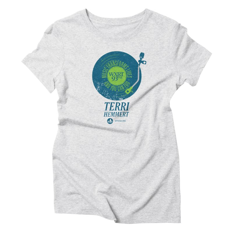 Music Transforms Lives Women's T-Shirt by 93XRT