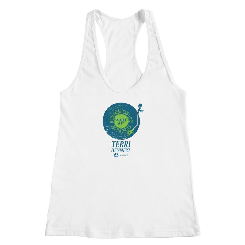 Music Transforms Lives Women's Racerback Tank by WXRT's Artist Shop