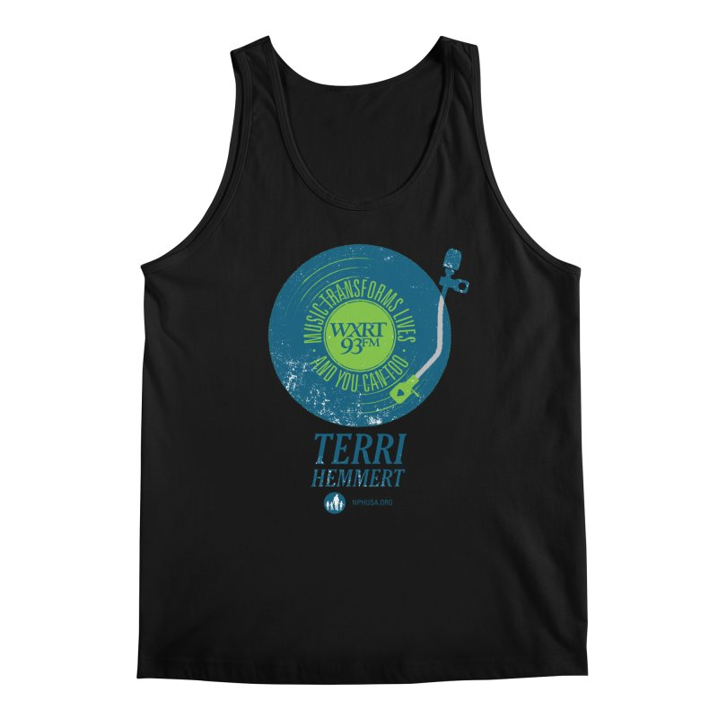 Music Transforms Lives Men's Regular Tank by 93XRT