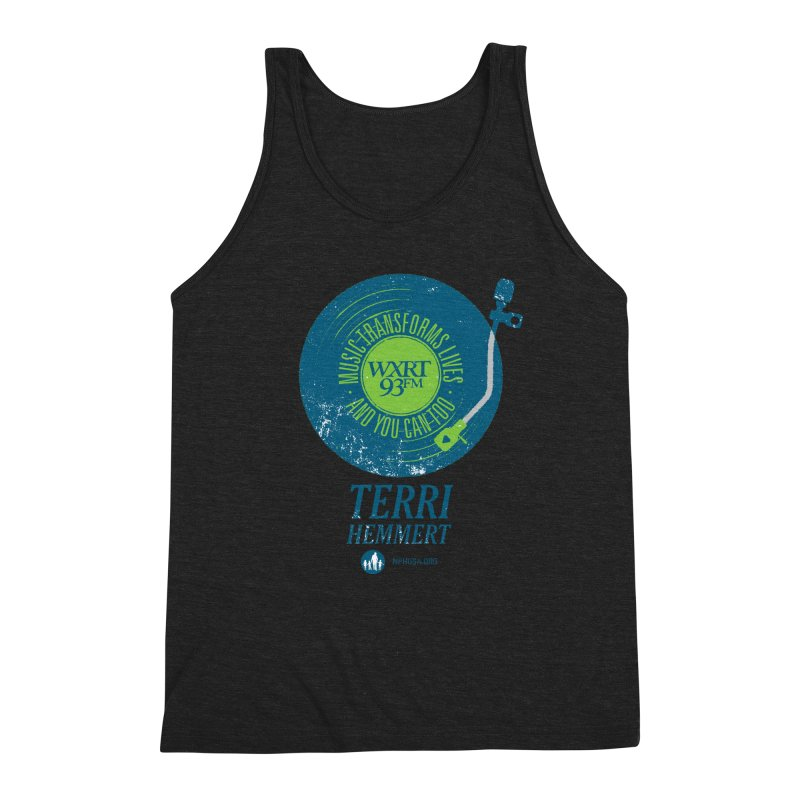Music Transforms Lives Men's Triblend Tank by 93XRT