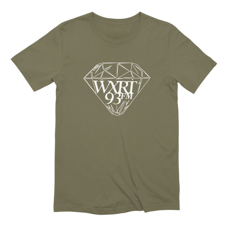 XRT Classic Diamond Tee Men's T-Shirt by 93XRT
