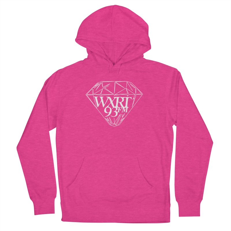 XRT Classic Diamond Tee Women's French Terry Pullover Hoody by WXRT's Artist Shop