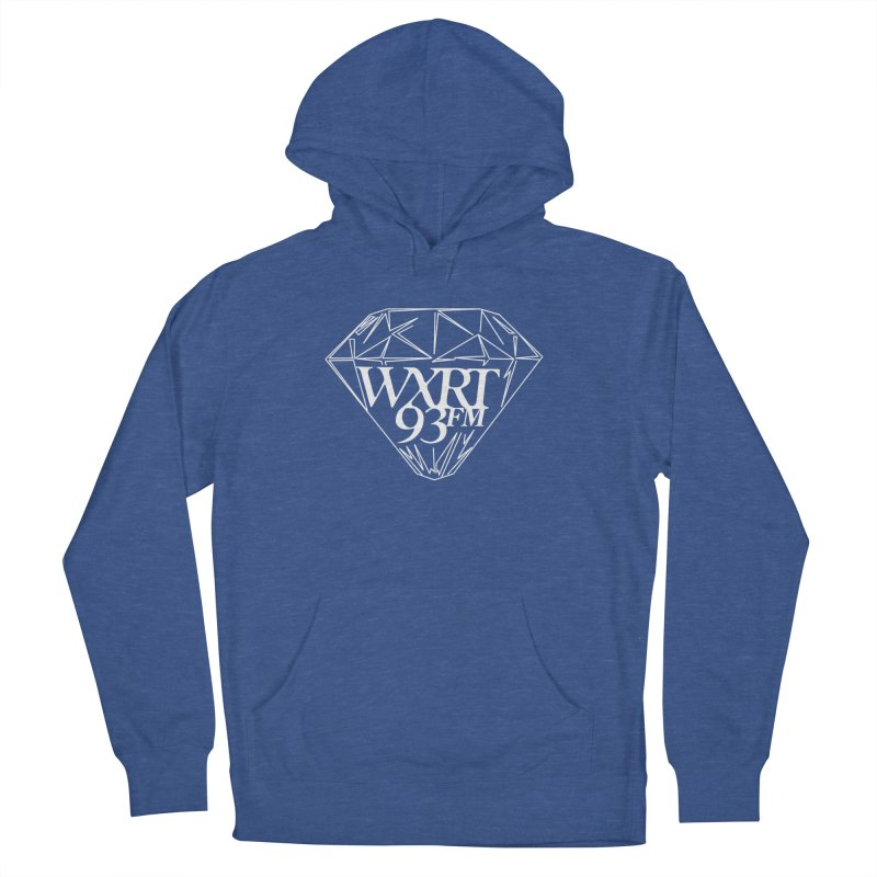 XRT Classic Diamond Tee Men's French Terry Pullover Hoody by WXRT's Artist Shop