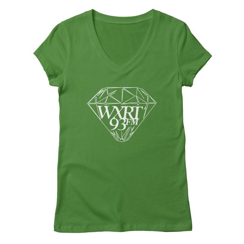 XRT Classic Diamond Tee Women's V-Neck by 93XRT