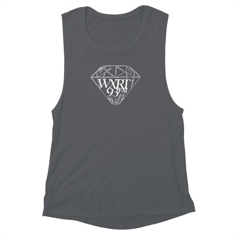 XRT Classic Diamond Tee Women's Muscle Tank by WXRT's Artist Shop