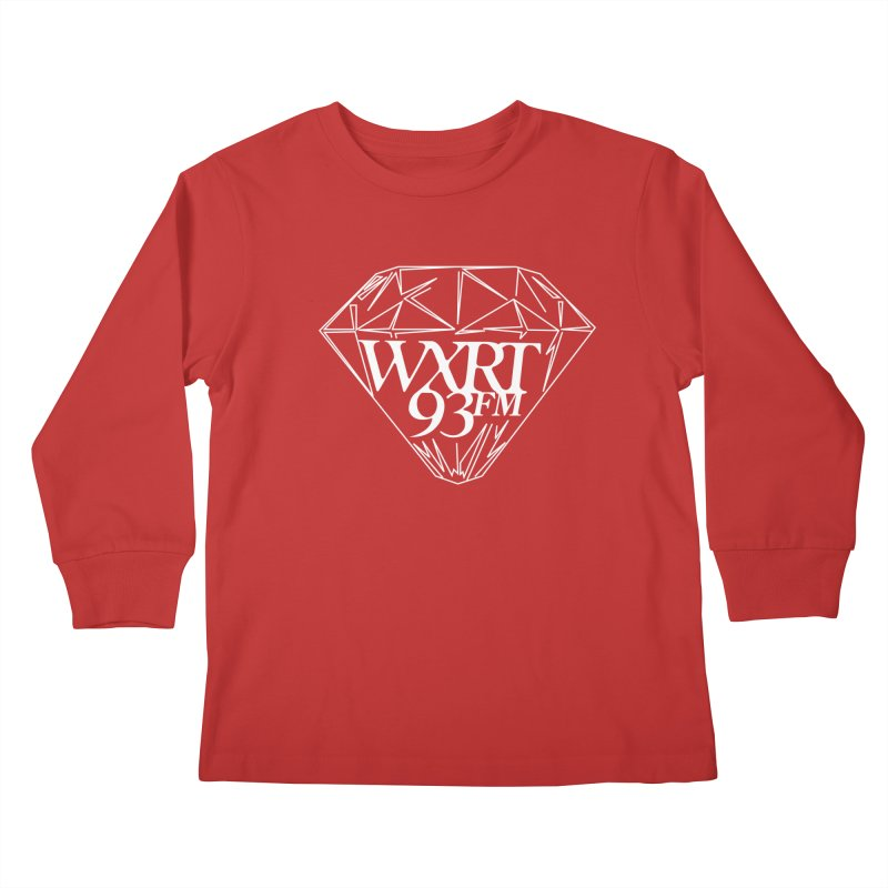 XRT Classic Diamond Tee Kids Longsleeve T-Shirt by WXRT's Artist Shop